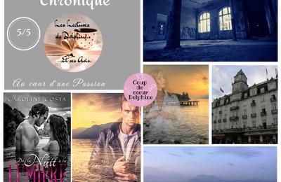 Chronique Delphine : De la nuit à la lumière de Caroline Costa chez Editions Elixyria