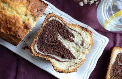 Cake marbré sans lactose
