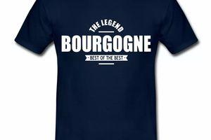 T Shirt Bourgogne The Legend Bourgogne II HBM