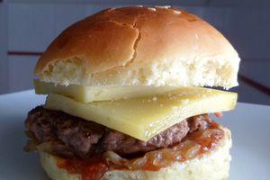 Mini burger au Cantal
