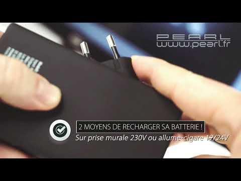 Une batterie d'appoint ...sans câble ! (la prise secteur est intégrée)