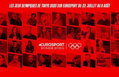 A l'approche des Jeux Olympiques de Tokyo 2020, Eurosport dévoile son équipe d'experts