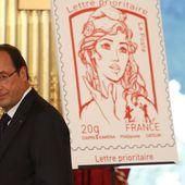 Dès demain, le nouveau timbre inspiré de la fondatrice des Femen, Inna Shevchenko - MOINS de BIENS PLUS de LIENS