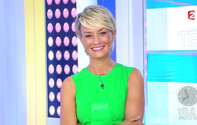 NATACHA HARRY @natacha_harry ce matin @telematin @France2tv #vuesalatele