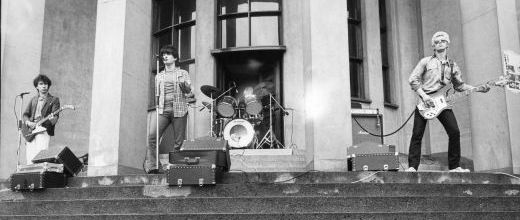 U2 -Early Days -24/05/1979 -Dublin -Irlande - Trinity College