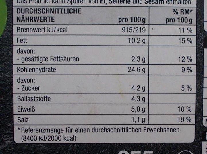Edeka Gemüse Nuggets mit 42% Gemüse