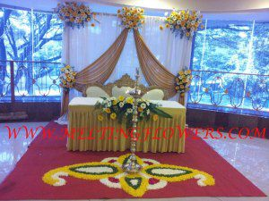 Florist In Bangalore, Wedding Reception Decoration: Marriage Decoration Services