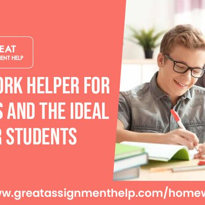 Homework Helper For Success And The Ideal Site For Students