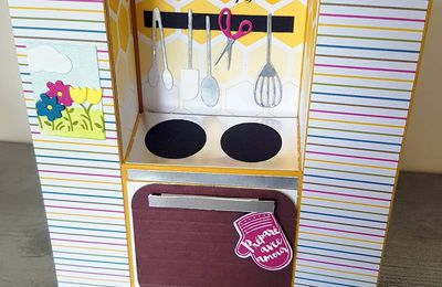 Cartes 3D cuisine/barbecue