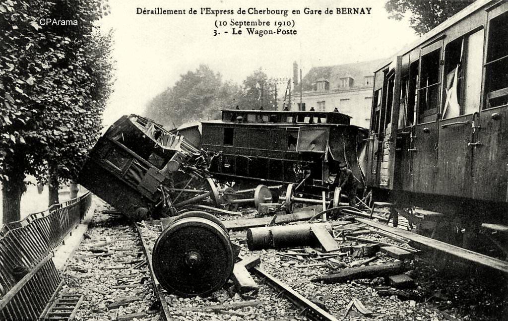 Catastrophes ferroviaires : Bernay-1910 (3)
