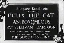 Felix the Cat : Astronomeows (1928) Otto Messmer / Pat Sullivan
