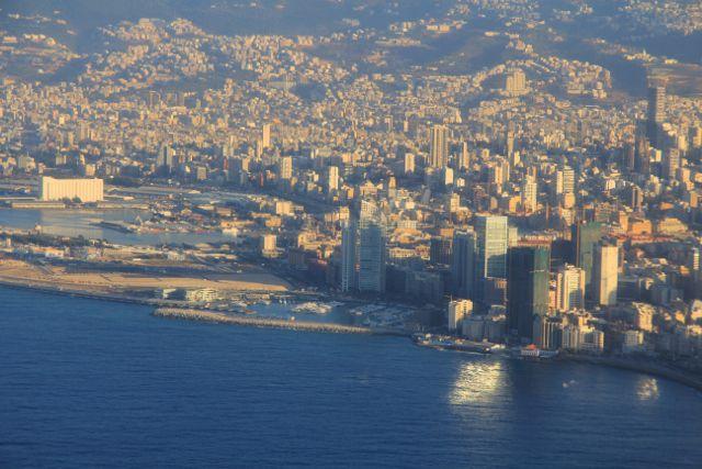 Beyrouth, des vues du ciel