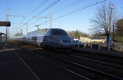 TGV A Paris Montparnasse - Bordeaux St Jean