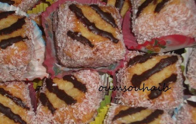 carrés noix de coco nutella ultra fondants!!