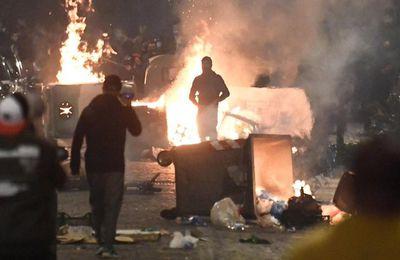 Naples: Les anti-restrictions sanitaires à l'attaque