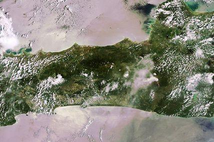Eruption du Volcan Merapi en Indonésie : des images des satellites optiques et des mesures à partir de données Radar