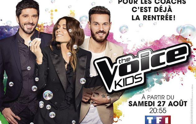 Saison 3 de « The Voice Kids » dès le samedi 27 Août sur TF1