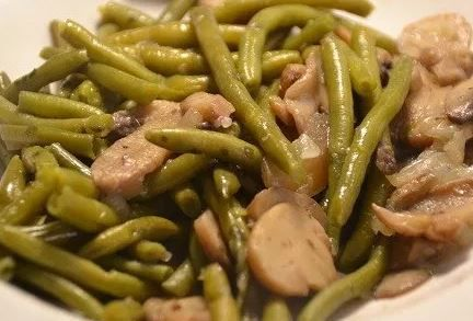 Haricots verts forestiers au cookeo