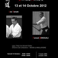 Léo Tamaki et Farouk Benouali à Lyon