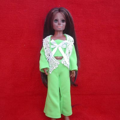 """Crissy et ses amies vous présentent la collection """" vert anis"""""""