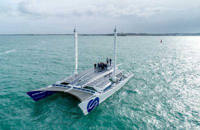 Energy Observer repart pour 4 ans de navigation