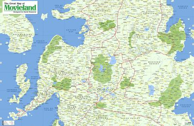 Movieland : cartographie des films
