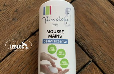 Mousse mains désinfectante Thermobaby