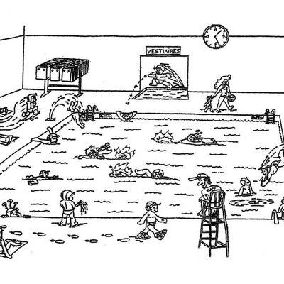 Piscine : petit jeu des règles de sécurité et d'hygiène...