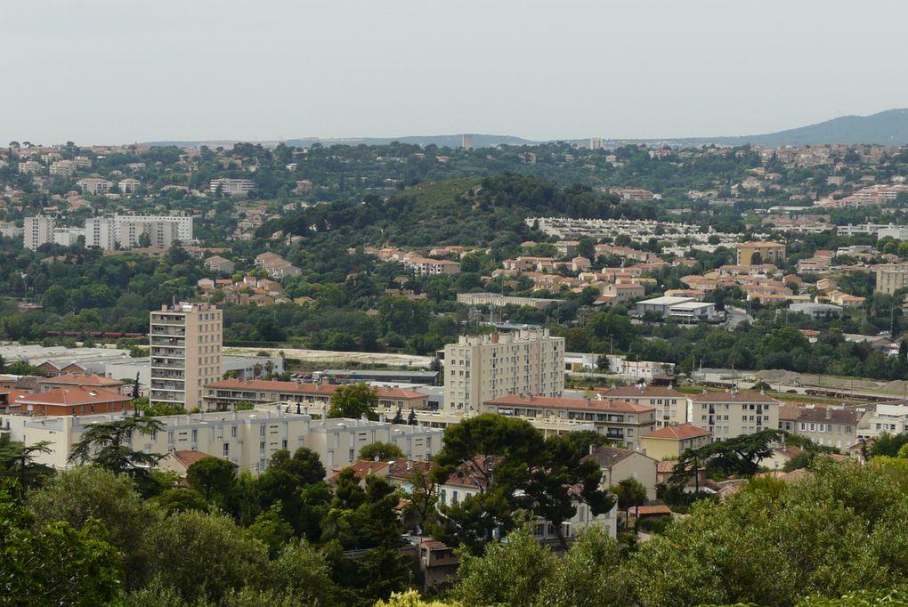 De la place de l'Octroi à Saint Marcel Découverte de l'Huveaune,du Canal de Marseille,des lotissements,cités et du passé industriel de nos quartiers