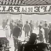 RARE FILM DE PARIS EN 1920