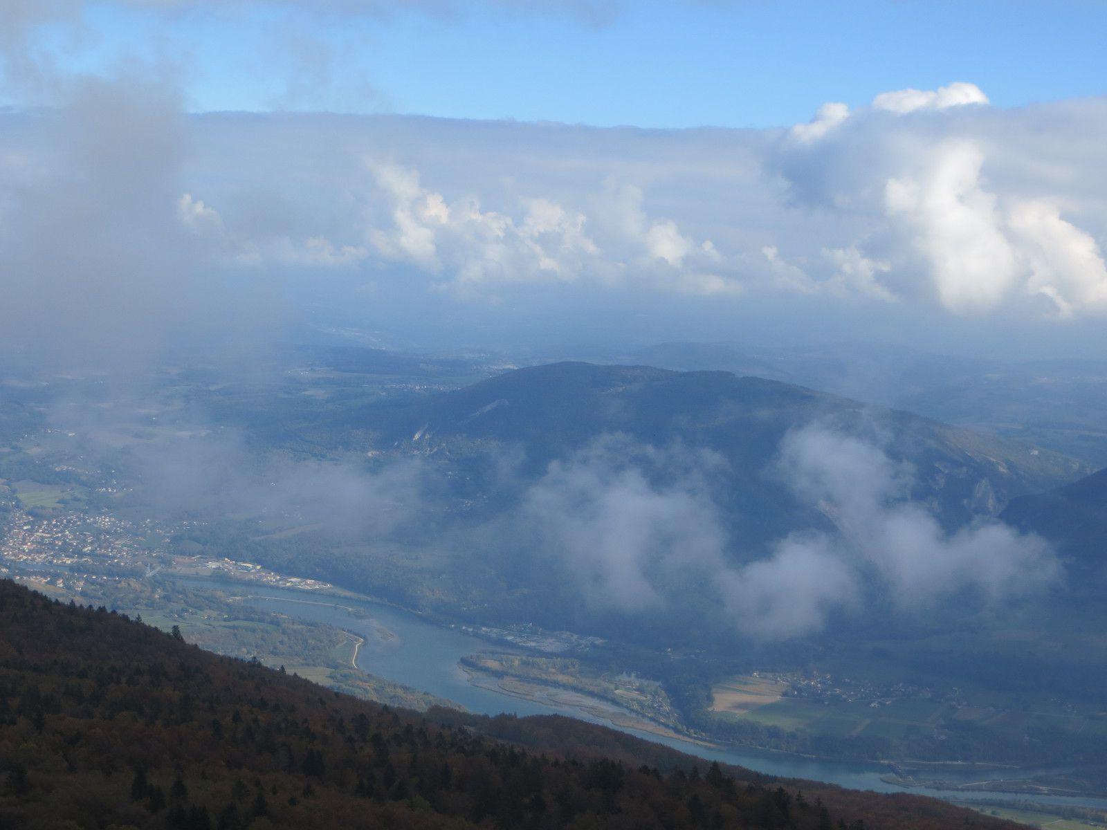 Vue sur la plaine du Rhône