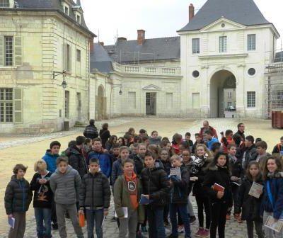 Samedi 28 mars St Fargeau-Fontevraud-Blois