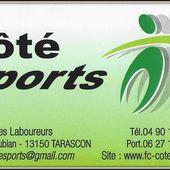 Vite ! Je profite des offres chez Côté Sports - Bienvenue à Tarascon ! A.C.A.T. Acteur de votre ville