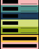FDSE03101 FDSE03101 Etiquette un air floral - etiquettes rectangles FEE DU SCRAP