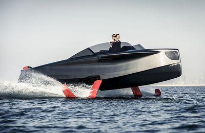 Foiler, il primo yacht volante èpronto a stupire l'Europa