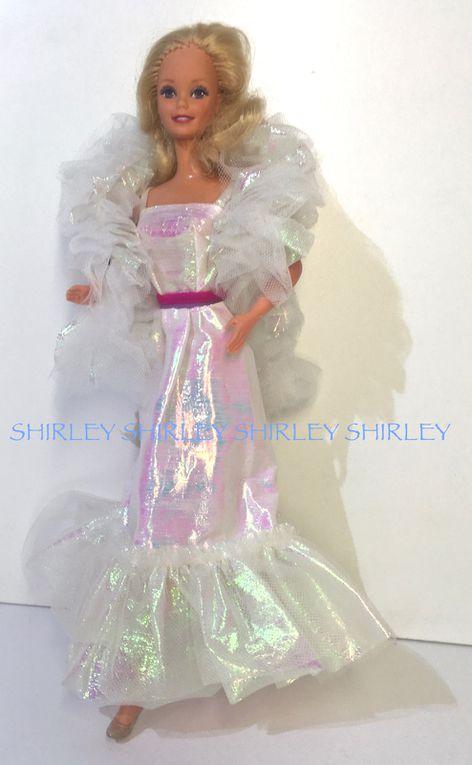 """CRYSTAL"" BARBIE DOLL CLOTHES 1983 MATTEL #4598"