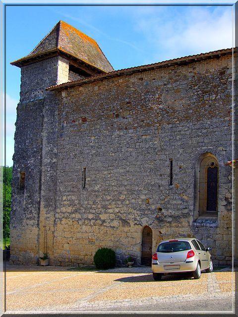 Diaporama église fortifiée de Siorac de Ribérac