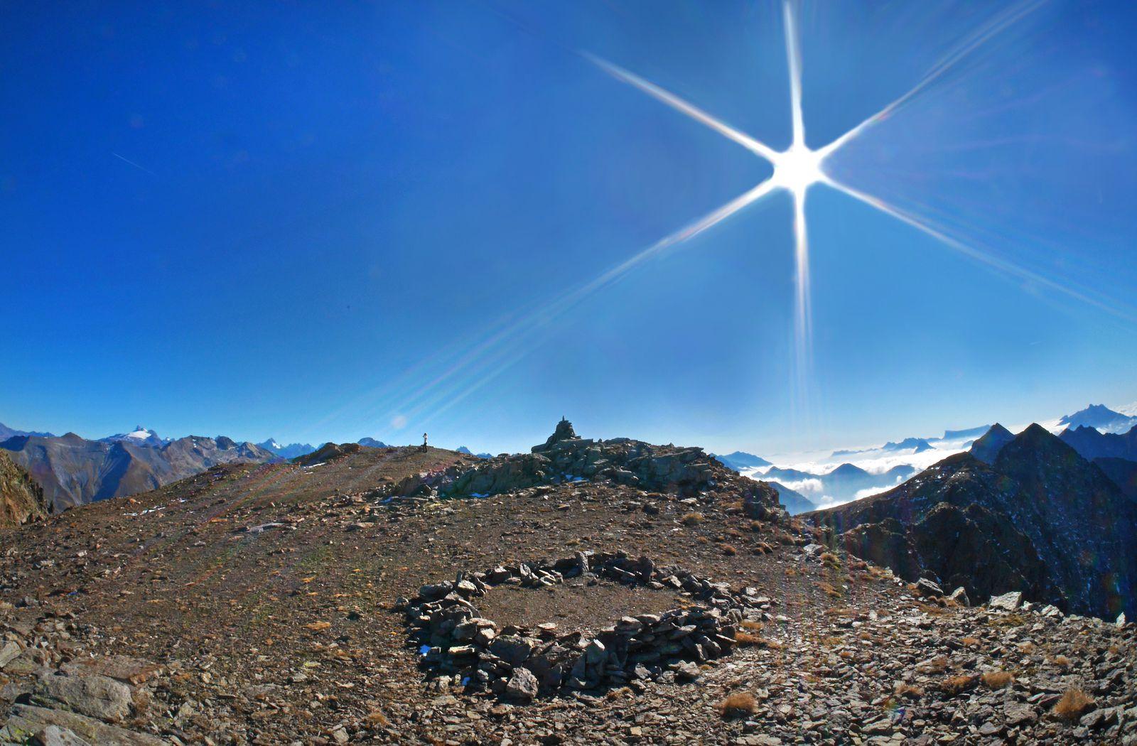 Sommet du Grand Armet : 2792 m.