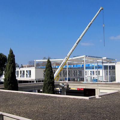 La canopée du nouveau campus se dessine _ mars 2016