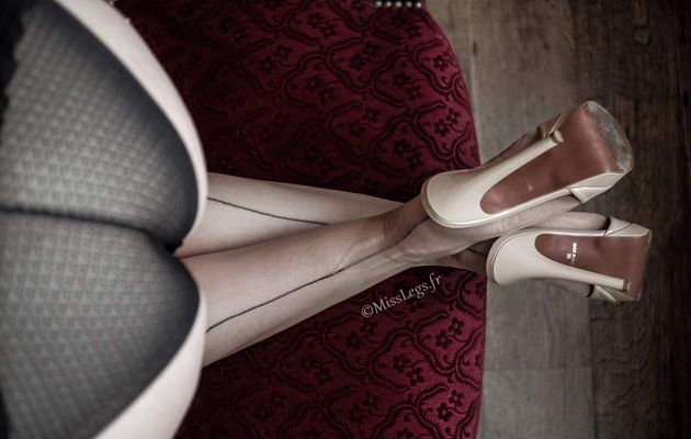 Manhattan heels for my nylon stockings