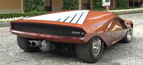 La Lancia Stratos HF Zero