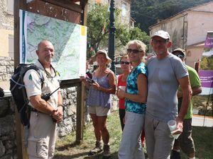 PNRV  : Inauguration du Tour de l'Artuby, nouveau GR de Pays®