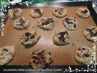 Cookies pois chiches et chocolat