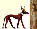 La Belle et la Bête, version égyptienne...