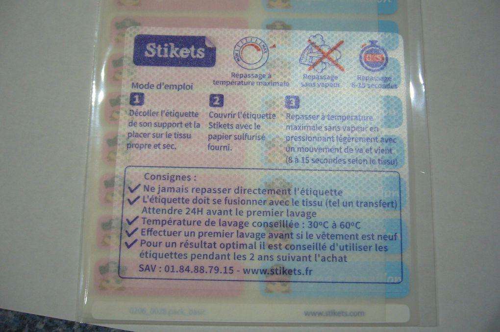 Les étiquettes personnalisées Stikets vont vous faciliter la vie !