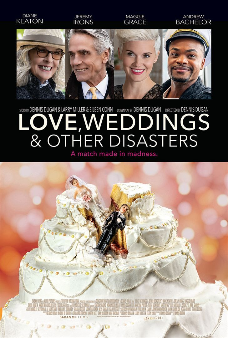Love, Weddings & Other Disasters (BANDE-ANNONCE) avec Maggie Grace, Diane Keaton, Jeremy Irons