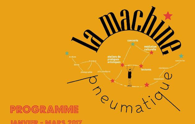 La Machine Pneumatique - Programme Janvier / Mars 2017