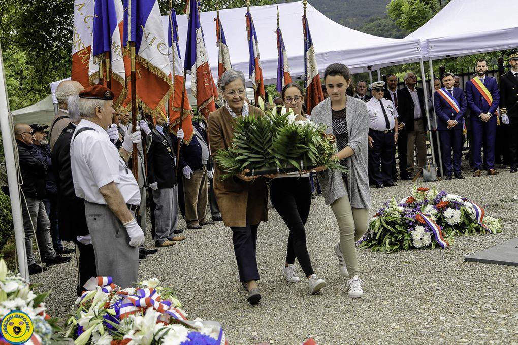 St Julien du Verdon  ; 75 anniversaire de la commémoration du 11 juin 1944