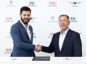 Kia et Hyundai investissent dans Rimac!