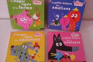 "Collection ""Ouistiti fait rire les petits"" - Editions Nathan"